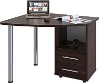 Письменный стол Сокол-Мебель КСТ-102 (правый, венге) -