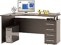 Письменный стол Сокол-Мебель КСТ-104.1 (правый, венге) -