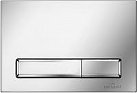 Кнопка для инсталляции Cersanit Hi-Tec Blick P-BU-BK/Cg -