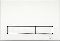 Кнопка для инсталляции Cersanit Hi-Tec Blick P-BU-BK/Wh -