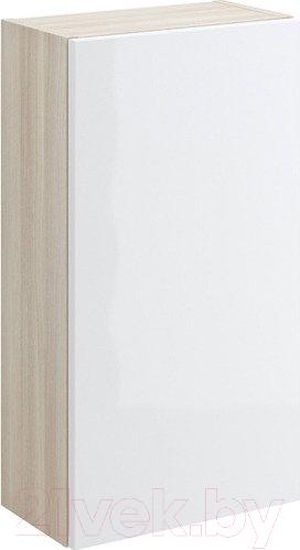 Шкаф-полупенал для ванной Cersanit, Smart P-SW-SMA/Wh, Россия  - купить со скидкой