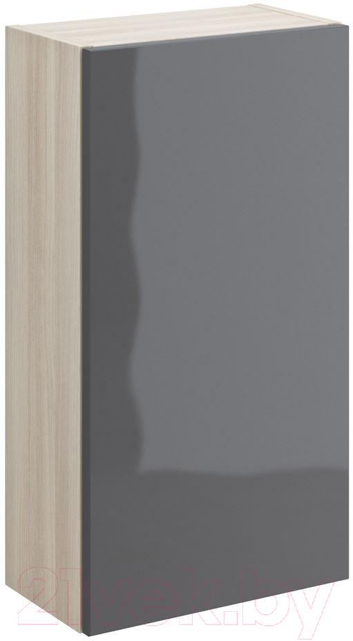 Купить Шкаф-полупенал для ванной Cersanit, Smart P-SW-SMA/Gr, Россия