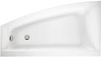 Ванна акриловая Cersanit Virgo Max 160x90 L / P-WA-VIRGOM160-L (с ножками) -