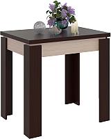 Обеденный стол Сокол-Мебель СО-1 (беленый дуб/венге) -