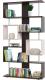 Стеллаж Сокол-Мебель СТ-2 (венге/беленый дуб) -