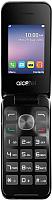 Мобильный телефон Alcatel One Touch 2051D (серебристый металлик) -