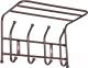 Вешалка для одежды Ника ВП4 (медный антик) -