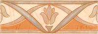 Бордюр Березакерамика Елена цветок оранжевый (200x70) -