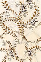 Декоративная плитка Березакерамика Елена каприз оранжевый (200x300) -