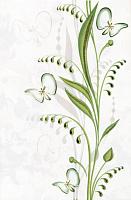 Декоративная плитка Березакерамика Нарцисс лето салатовый (200x300) -