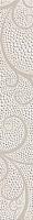Бордюр Березакерамика Капри жемчуг белый (350x54) -