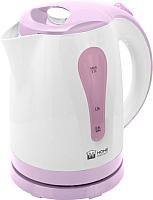 Электрочайник Home Element HE-KT156 (белый/фиолетовый) -