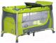 Кровать-манеж 4Baby Moderno (зеленый) -