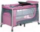 Кровать-манеж 4Baby Moderno (фиолетовый) -