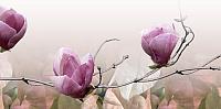 Панно Belani Фрезия Магнолия 2 розовая (250x500) -