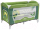 Кровать-манеж 4Baby Vegas (зеленый) -