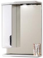 Шкаф с зеркалом для ванной Belux Сонет-Сити В60Ш (левый) -