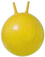 Фитбол с рожками Gold Cup JB65 (желтый) -