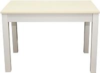 Обеденный стол Мебель-Класс Аквилон (кремовый белый) -