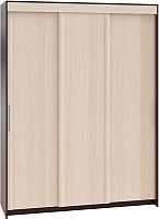 Шкаф Сокол-Мебель ШР-186.31 (венге/беленый дуб) -