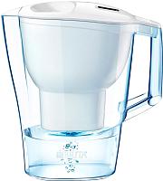 Фильтр питьевой воды Brita Алуна XL Cal (белый + 2 картриджа Maxtra) -