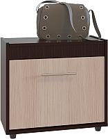 Тумба для обуви Сокол-Мебель ТП-6 (венге/беленый дуб) -