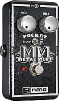 Педаль электрогитарная Electro-Harmonix Nano Pocket Metal Muff -