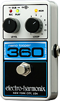 Педаль электрогитарная Electro-Harmonix Nano Looper 360 -