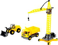 Набор игрушечных автомобилей Полесье Агат / 57150 (в коробке) -