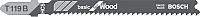 Пилки для лобзика Bosch 2.608.630.037 -