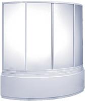 Пластиковая шторка для ванны BAS Алегра 145 -
