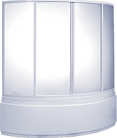 Стеклянная шторка для ванны BAS Алегра 145 -