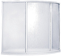 Пластиковая шторка для ванны BAS Флорида 145 -