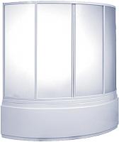 Пластиковая шторка для ванны BAS Лагуна 145 -