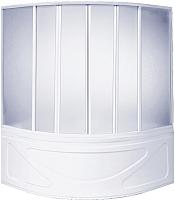 Пластиковая шторка для ванны BAS Риола 145 -