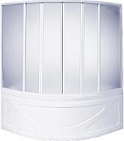 Пластиковая шторка для ванны BAS Хатива 145 -
