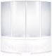 Пластиковая шторка для ванны BAS Империал 145 -