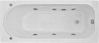 Ванна акриловая BAS Стайл 160x70 (с гидромассажем Flat Brass) -