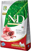 Корм для собак Farmina N&D Grain Free Chicken & Pomegranate Adult Mini (0.8кг) -