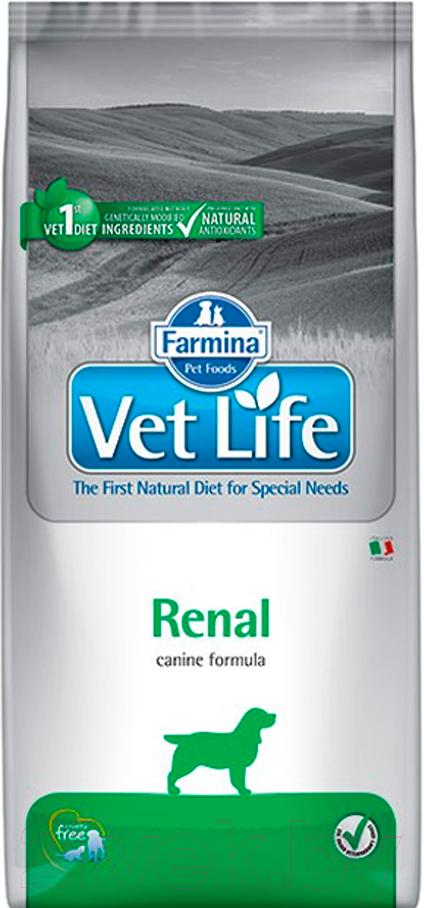 Купить Корм для собак Farmina, Vet Life Renal (12кг), Италия