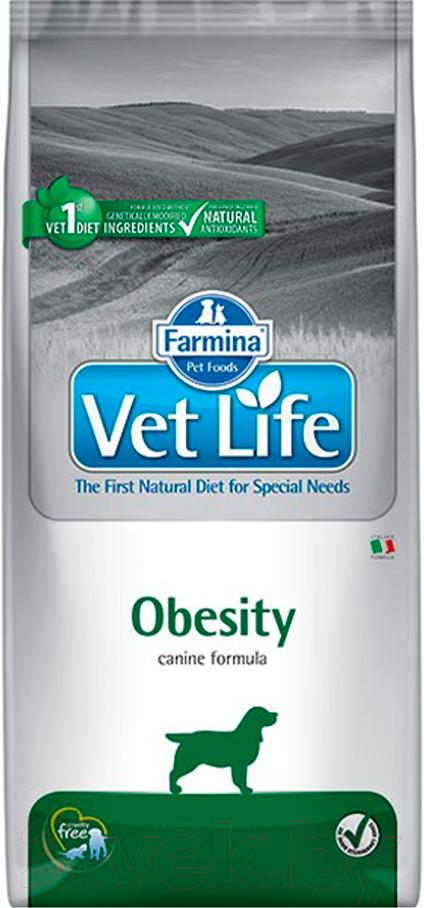 Купить Корм для собак Farmina, Vet Life Obesity (12кг), Италия