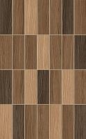 Плитка Golden Tile Karelia Mosaic И57061 (250x400, коричневый) -