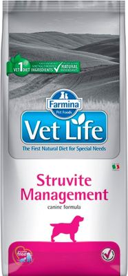 Корм для собак Farmina Vet Life Struvite Management (2кг)