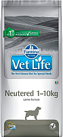 Корм для собак Farmina Vet Life Neutered 1-10 (10кг) -