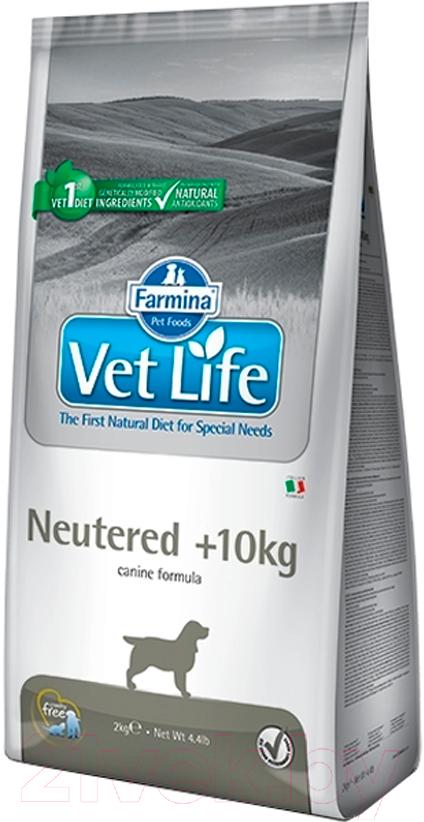 Купить Корм для собак Farmina, Vet Life Neutered > 10 (2кг), Италия