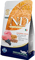 Корм для кошек Farmina N&D Low Grain Lamb & Blueberry Adult (1.5кг) -
