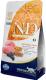 Корм для кошек Farmina N&D Low Grain Lamb & Blueberry Adult (5кг) -