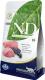 Корм для кошек Farmina N&D Grain Free Lamb & Blueberry Adult (10кг) -