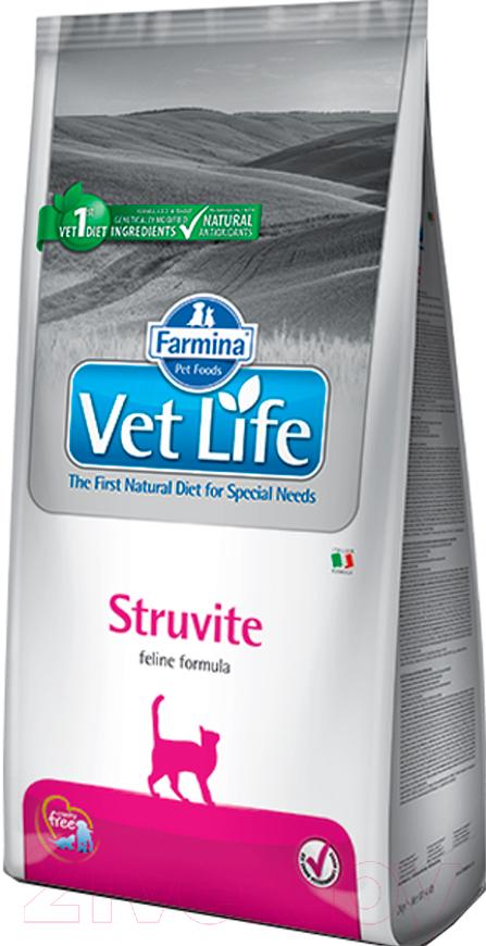 Купить Корм для кошек Farmina, Vet Life Struvite (2кг), Италия