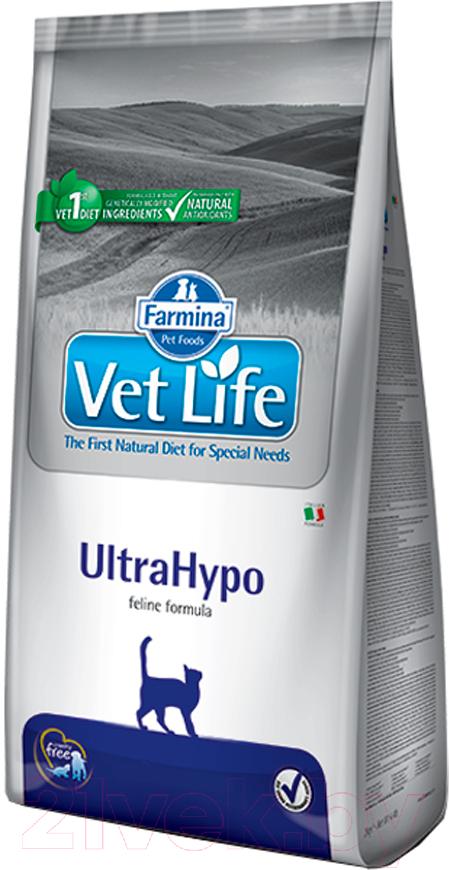 Купить Корм для кошек Farmina, Vet Life UltraHypo (0.4кг), Италия